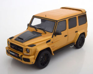 【送料無料】模型車 モデルカー スポーツカー グアテマラメルセデスイエローメタリック118 gt spirit mercedes brabus g850 yellowmetallic