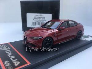 【送料無料】模型車 モデルカー スポーツカー モデルアルファロメオbbr models 143 alfa romeo giulia quadrifoglio red competition bbrc176a18