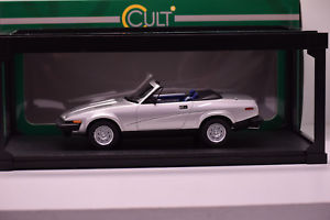 【送料無料】模型車 モデルカー スポーツカー カルトスケールモデルtriumph tr7 cabriolet 1980 cult scale models 118 neuve en boite