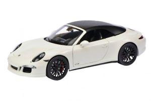 【送料無料】模型車 モデルカー スポーツカー ポルシェカレラカブリオレschuco 00395 118 porsche 911 carrera gts cabriolet weiss neu