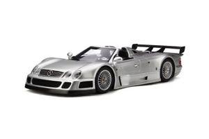 【送料無料】模型車 モデルカー スポーツカー メルセデスロードスターモデルカーmercedes clk gtr roadster silber, modellauto 118 gt spirit