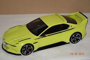 【送料無料】模型車 モデルカー スポーツカー オマージュイエローbmw 3,0 csl hommage gelb 118 bmw 80432413753 neu ovp