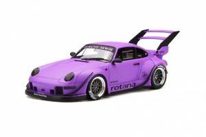 【送料無料】模型車 モデルカー スポーツカー ポルシェソフトウェアライセンスロタナバイオレットgt spirit gt737 porsche 911 rwb 993 rotana violett 118 limited 11500