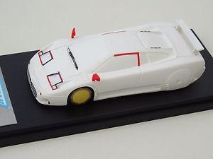 【送料無料】模型車 モデルカー スポーツカー モデルブガッティバージョンalezan models 143 bugatti eb 110 2me version wind tunnel 1990