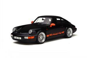 【送料無料】模型車 モデルカー スポーツカー ポルシェカレラブラックモデルカーグアテマラグアテマラporsche 911 964 carrera rs schwarz modellauto gt137 gtspirit 118