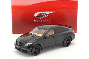 【送料無料】模型車 モデルカー スポーツカー ブラックグアテマラbrabus gle 850 schwarz 118 gtspirit