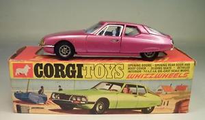 【送料無料】模型車 モデルカー スポーツカー コーギーホイールシトロエン#corgi toys whizzwheels 284 citroen sm ovp 291