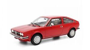 【送料無料】模型車 モデルカー スポーツカー アルファロメオスプリントレッドモデルカーalfa romeo alfasud sprint rot modellauto lm096 laudoracing 118