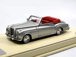 【送料無料】模型車 モデルカー スポーツカー モデルロールスロイスシルバークラウドヘッドクーペシルバードロップtsm model tsmce154309 1959 rolls royce silver cloud drophead coupe silver 143