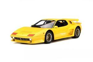 【送料無料】模型車 モデルカー スポーツカー スペシャルフェラーリイエローターボモデルカーグアテマラkoenig specials ferrari 512 bbi turbo 1983 gelb modellauto 118 gt spirit