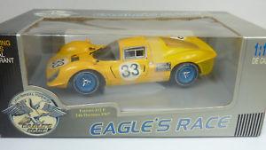 【送料無料】模型車 モデルカー スポーツカー イーグルレースフェラーリ#デイトナeagles race jouef 118 ferrari 412 p 33 24h daytona 1967 in ovp a650