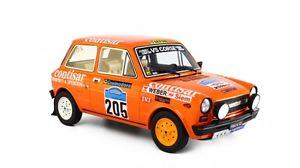 【送料無料】模型車 モデルカー スポーツカー アバルトラリーディロマーニャ#autobianchi a112 abarth rallye di romagna 1978 tognana 205 laudoracing 118