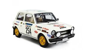 【送料無料】模型車 モデルカー スポーツカー アバルトラリーバリautobianchi a112 abarth rallye valli piacente 1978 tognana 254 laudoracing 118