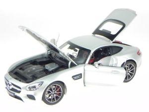 【送料無料】模型車 モデルカー スポーツカー メルセデスイリジウムシルバーモデルカーmercedes c190 amg gt s iridium silber modellauto norev 118