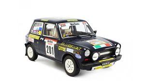 【送料無料】模型車 モデルカー スポーツカー アバルトラリーサンマルティーノ#autobianchi a112 abarth san martino rallye 1977 bettega 201 laudoracing 118