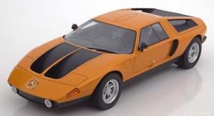 【送料無料】模型車 モデルカー スポーツカー ボスメルセデスコンセプトメタリックオレンジブラック