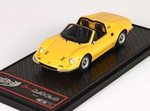 【送料無料】模型車 モデルカー スポーツカー ディーノフェラーリdino ferrari 246 gts yellow bbr bbrc54b 143