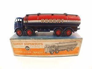 【送料無料】模型車 モデルカー スポーツカー トンタンカーdinky toys gb n 942 foden 14ton tanker regent camion citerne en boite 504