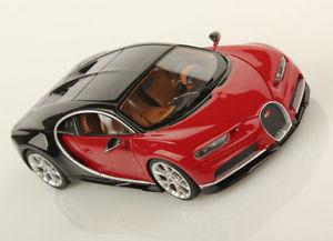 【送料無料】模型車 モデルカー スポーツカー ブガッティカイロンイタリアbugatti chiron nocturne italian red looksmart ls459b 143