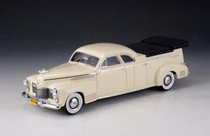 【送料無料】模型車 モデルカー スポーツカー キャデラックミラーベージュモデルcadillac miller meteor flower car beige 1941 glm models 143 43104002