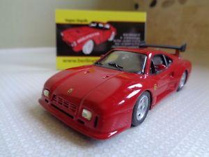 【送料無料】模型車 モデルカー スポーツカー ハイファイハンドフェラーリボックスロットフィエーラhifi automodelli handbuilt ferrari gto evoluzione michelotto 143 in displaybox