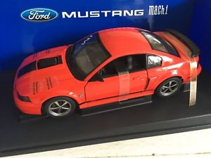 【送料無料】模型車 モデルカー スポーツカー フォードムスタングマッハオレンジautoart 2004 ford mustang mach 1 orange 118