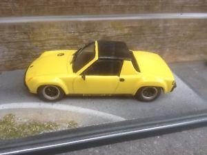 【送料無料】模型車 モデルカー スポーツカー ポルシェボックスキットモデルカーporsche 9146 gr2 yellow in bbr box 143 handbuilt kit berlinetta modelcars