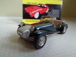 【送料無料】模型車 モデルカー スポーツカー ロータスキットモデルカーlotus seven 143 built metal smts kit berlinetta modelcars
