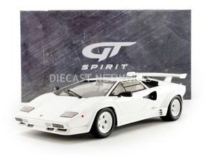 【送料無料】模型車 モデルカー スポーツカー グアテマラランボルギーニgt spirit 118 lamborghini countach lp 5000 qv 1987 gts18504w