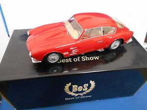【送料無料】模型車 モデルカー スポーツカー ボスボスマセラティマセラティモデルbos193569 by bos models maserati a6g 2000 zagato 118