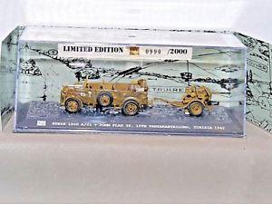 【送料無料】模型車 モデルカー スポーツカー チュニジアドイツwarmaster 172 reftk0056 steyr 1500 a01 amp; 30mm flak 38 tunisia german army