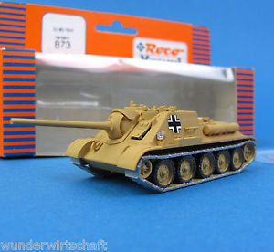 【送料無料】模型車 モデルカー スポーツカー roco minitanks h0 873 jagdpanzer su 85 1944 beutepanzer edw wwii ho 187 ovp