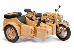 【送料無料】模型車 モデルカー スポーツカー アフリカschuco 06614 110 zndapp ks 750 mit beiwagen afrikakorps neu