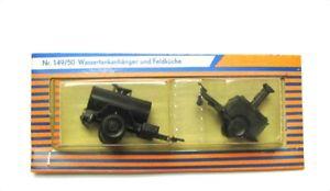 【送料無料】模型車 モデルカー スポーツカー ロコインミニタンクタンクトレーラフィールドキッチンroco minitanks z14950 wassertankanhnger feldkche h0 187 ovp ungeffnet