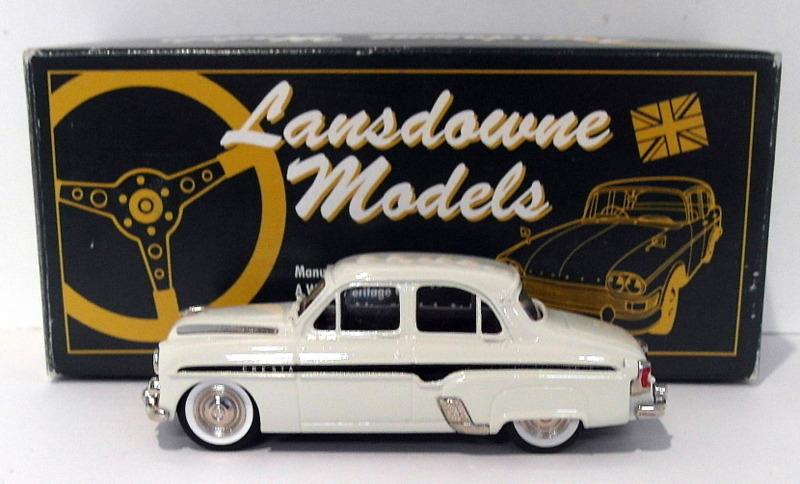 【送料無料】模型車 モデルカー スポーツカー ランズダウンモデルスケールボククレスタシリーズホワイトlansdowne models 143 scale ldm2a 1957 vauxhall cresta e series white