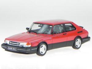 【送料無料】模型車 モデルカー スポーツカー サーブターボレッドモデルカーオットーsaab 900 turbo rot modellauto ot181 otto 118