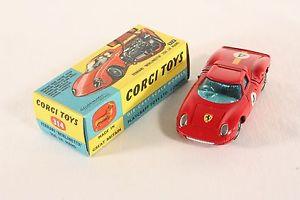 【送料無料】模型車 モデルカー スポーツカー コーギーフェラーリルマンボックス#ミントcorgi toys 314, ferrari berlinetta 250 le mans, mint in box   ab766