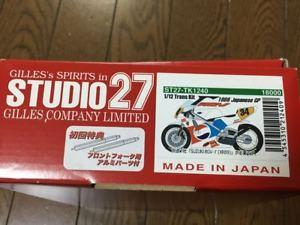 【送料無料】模型車 モデルカー スポーツカー スタジオトランキットstudio 27 transkit suzuki rgv 500, 1988