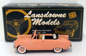 【送料無料】模型車 モデルカー スポーツカー ランズダウンモデルスケールフォードlansdowne models 143 scale ldm23x 1962 ford consul mk2 convertible 1 of 130