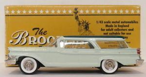 【送料無料】模型車 モデルカー スポーツカー スケールbrooklin 143 scale brk77 002  1959 mercury commuter modelex 1999 1 of 200