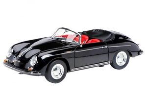【送料無料】模型車 モデルカー スポーツカー ポルシェカブリオレschuco porsche 356 a cabrio schwarz 118 450030800