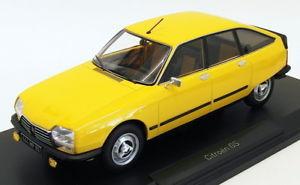 【送料無料】模型車 モデルカー スポーツカー スケールモデルカーシトロエン×ミモザイエローnorev 118 scale model car 181624 1979 citroen gs x3 mimosa yellow