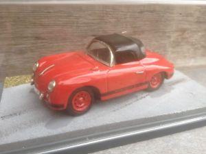 【送料無料】模型車 モデルカー スポーツカー ポルシェキットモデルカースピードボックスporsche 356 a speedster red in bbr box 143 handbuilt kit berlinetta modelcars