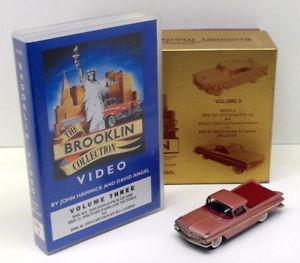 【送料無料】模型車 モデルカー スポーツカー モデルスケールシボレーエルカミーノビデオセットbrooklin models 143 scale brk46 001a 1959 chevrolet el camino video set
