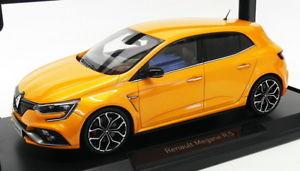 【送料無料】模型車 モデルカー スポーツカー スケールモデルカールノーメガーヌトニックオレンジnorev 118 scale model car 185225 2017 renault megane rs tonic orange