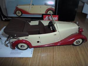 【送料無料】模型車 モデルカー スポーツカー メルセデスベンツプレートschucoedition 00061 118 mercedesbenz 170v cabrio blech ovp
