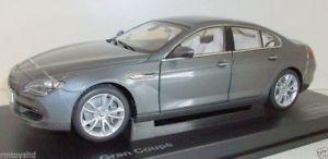 【送料無料】模型車 モデルカー スポーツカー パラゴンシリーズグランクーペスペースグレーparagon 118 pa97031 bmw 6 series gran coupe space grey