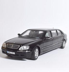 【送料無料】模型車 モデルカー スポーツカー サンスターメルセデスベンツプルマンクラスセダンsun star 4111 mercedes benz 600 pullman sclass limousine, 118, ovp