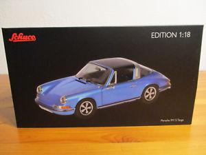 【送料無料】模型車 モデルカー スポーツカー ポルシェタルガ gor 118 schuco porsche 911 s targa  neu ovp