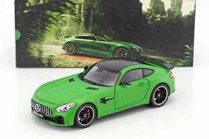 【送料無料】模型車 モデルカー スポーツカー メルセデスベンツクーペマットグリーンmercedesbenz amg gt r coupe matt grn 118 norev